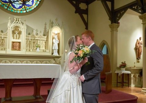 2014/11/01 -- Alex & Matthew Wedding -- St. Thomas Aquinas Church in Palo Alto, Calif., on Nov. 1, 2014