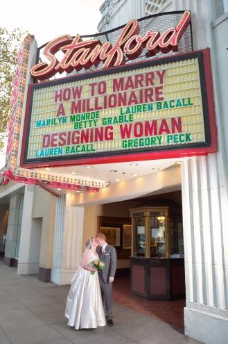 2014/11/01 -- Alex & Matthew Wedding -- Stanford Theatre in Palo Alto, Calif., on Nov. 1, 2014