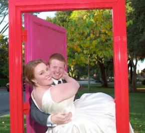 2014/11/01 -- Alex & Matthew Wedding -- Lincoln Park in Palo Alto, Calif., on Nov. 1, 2014